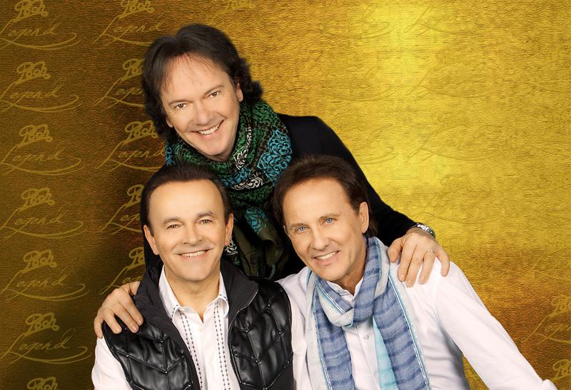 Il famoso gruppo ora trio Roby, Dodi e Red